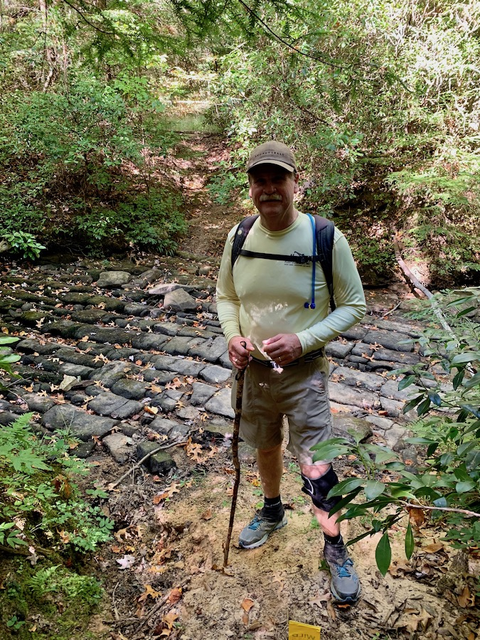 David Completes 2019 Trailblaze Challenge