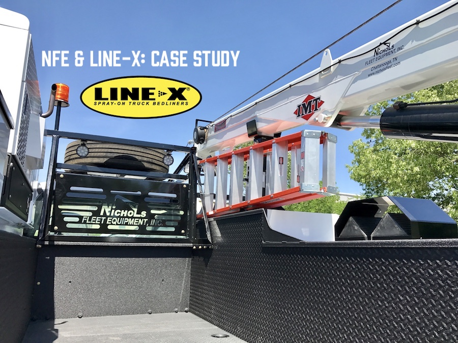 NFE Partners with Line-X for Case Study