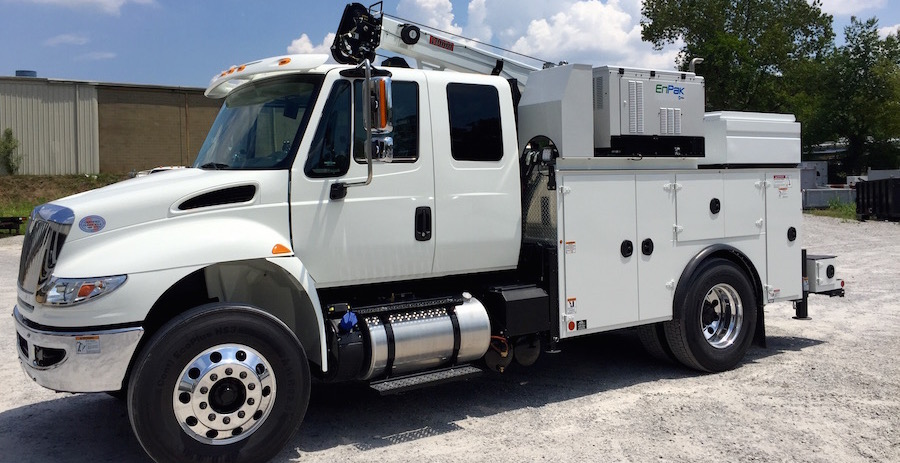 Featured Customer Truck: International, IMT Dom2, 10000 Crane, Miller EnPak