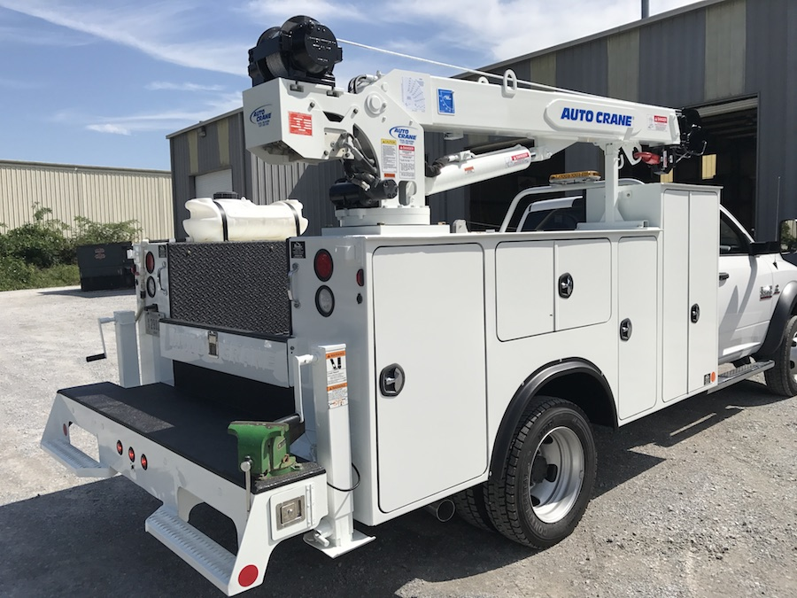 Refurbished Autocrane Mechanics Truck