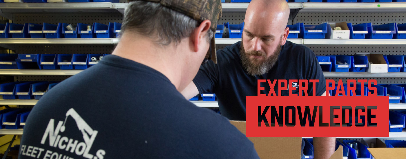 expert parts knowledge