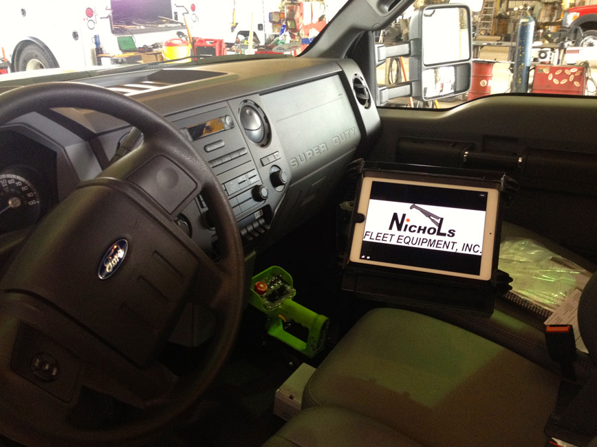 In-Cab Laptop/Tablet Stands